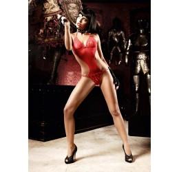 Sexy Body rosso con strass,...