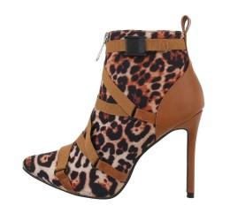 Sexy Stivaletti leopardati,...