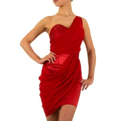 Sexy Mini Abito rosso - Party dress