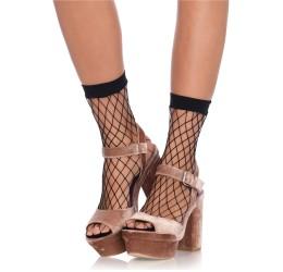 Calzini corti in rete nera...