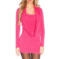 Sexy abito corto rosa...