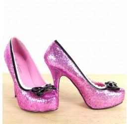 Sexy Scarpe rosa glitter by...