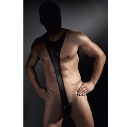 Sexy body uomo in lycra colore nero 'Derrick' Anais