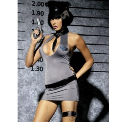 'Police Dress' Costume da Poliziotta Obsessive Lingerie tg.38/44