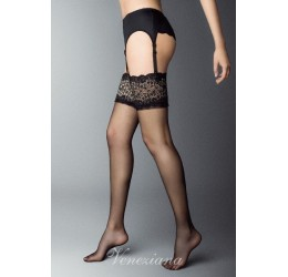 Sexy calze per reggicalze 20 den velate