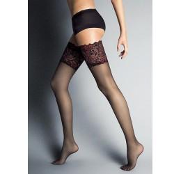 Sexy calze autoreggenti 15 den velate
