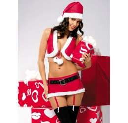 Intimo sexy completino Natale 'Lollipop'