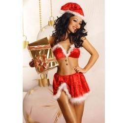 'SnowFlake' Sexy Completino Natale 3 pezzi Lolitta Lingerie