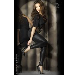 Sexy leggings neri pitonati da Chilirose taglia unica