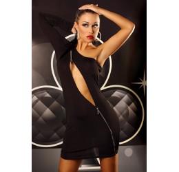 Provocative dress | Mini abito nero con perizoma