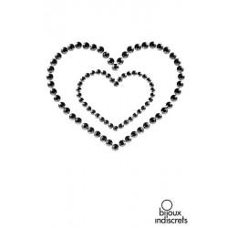 'Mimi heart' Gioiello adesivo per il seno Bijoux Indiscrets in vari colori.
